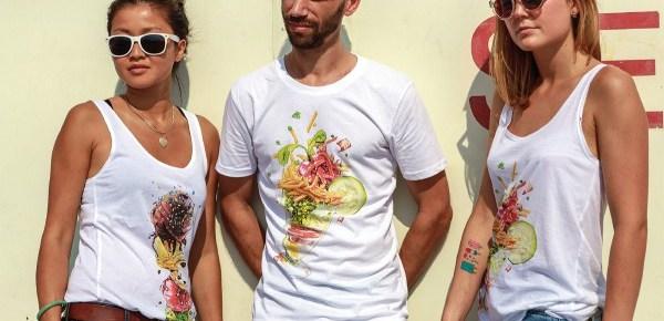 SayFat : une collection de t-shirts sucrés pour l'été