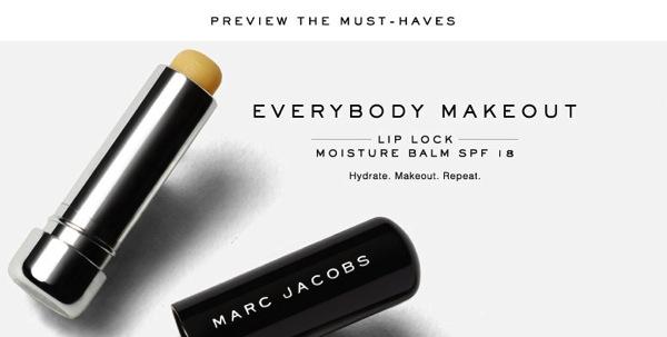 Du maquillage pour homme chez Marc Jacobs ?