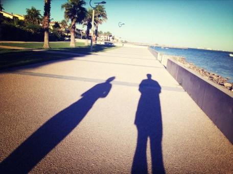 Samedi 10 août : nos ombres au bord de l'eau