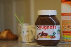 Mardi 27 août : Petit déjeuner avec notre pot de Nutella personnalisé