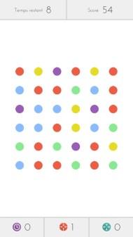 Mardi 3 septembre : intoxiqué par le jeu Dots !