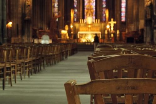 Lundi 9 septembre : petit tour dans la cathédrale