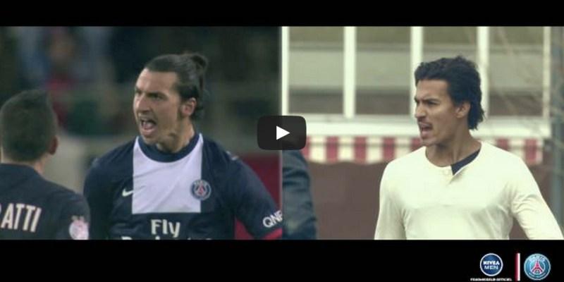Prenez vous pour une star du Paris Saint-Germain avec Nivea Men