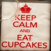 Samedi 19 avril : Keep Calm and eat cupcakes