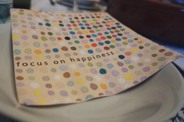 Dimanche 20 avril : Focus on happiness