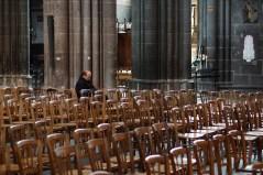 Mardi 13 mai : mon client était en retard, alors j'ai fait un tour à la cathédrale de Clermont