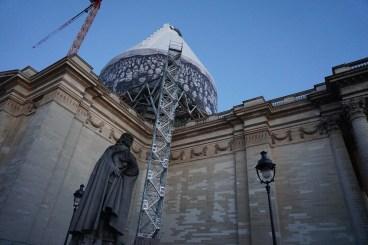 Mercredi 2 juillet : Une fusée prête à partir ou le Panthéon ?