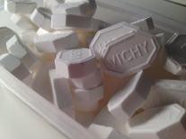Dimanche 25 janvier 2015 : pastilles Vichy