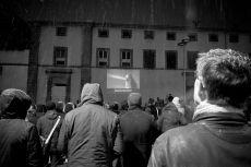 Mardi 3 février 2015 : séance en plein air A wall is a screen