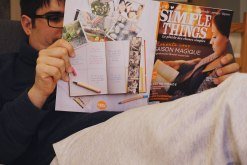 Mardi 10 mars : en pleine lecture de Simple Things