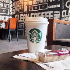 Mardi 2 juin 2015 : un petit Starbucks avant d'attaquer la journée