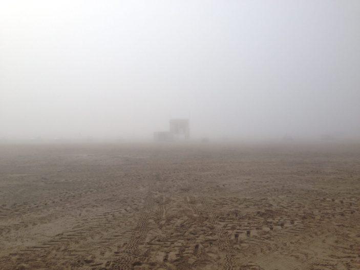 Jour de marin : quand le brouillard arrive par la mer difficile de croire qu'on est le 17 juillet !