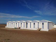 Les cabines : les plages privées sont très rares