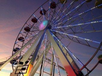 La grande roue de Pirate'Parc