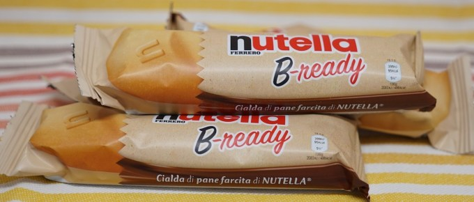 La gaufrette fourrée Nutella B-ready… bientôt disponible en France