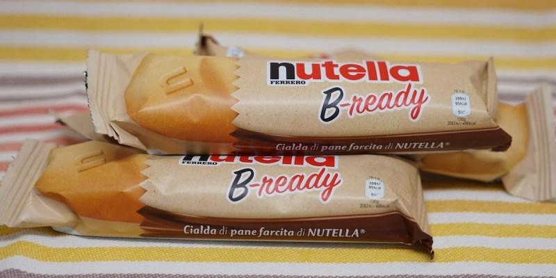 La gaufrette fourrée Nutella B-ready… bientôt disponible en France