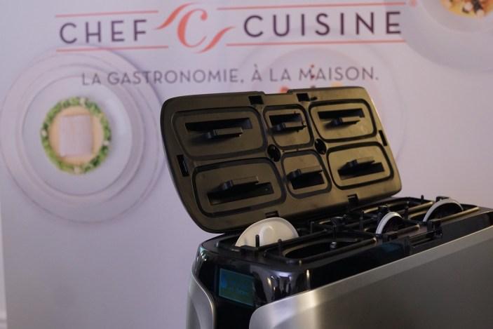 Le cuiseur ChefCuisine prêt à fonctionner