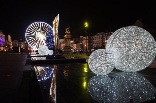 Noël Place de Jaude à Clermont !
