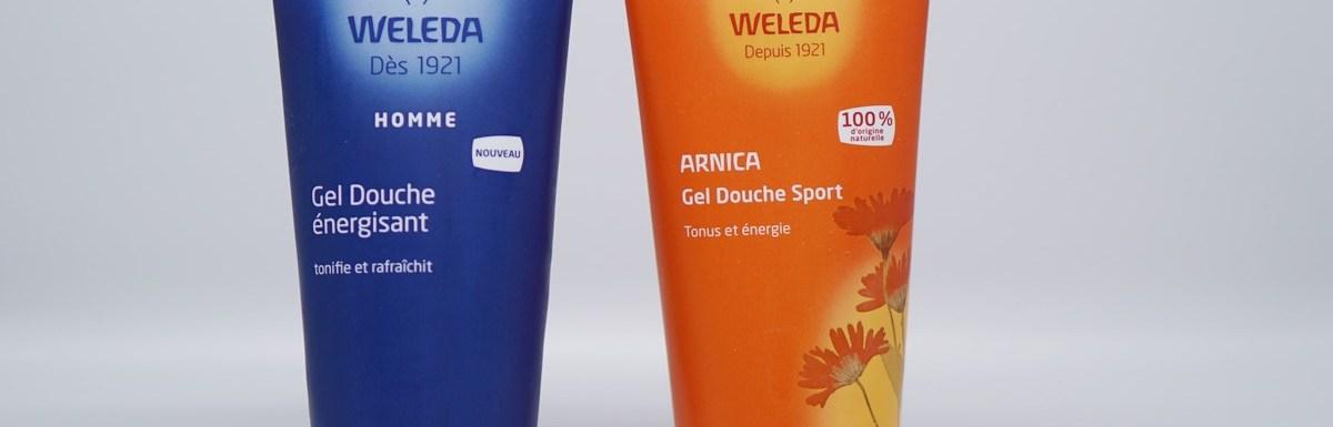 Deux gels douche Weleda pour nous les hommes