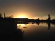 Mercredi 27 janvier : lever de soleil à Vichy
