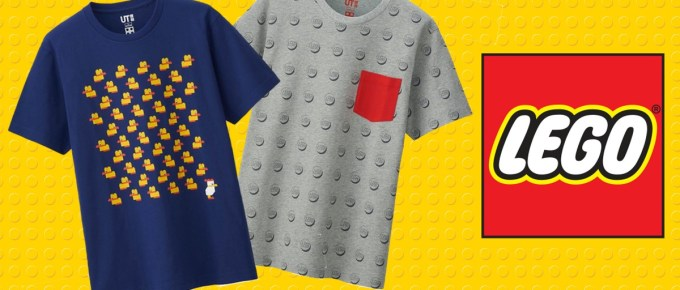 T-shirts Uniqlo x Lego = Love !