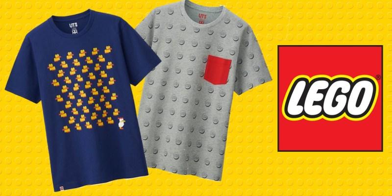 T-shirts Uniqlo x Lego = Love !