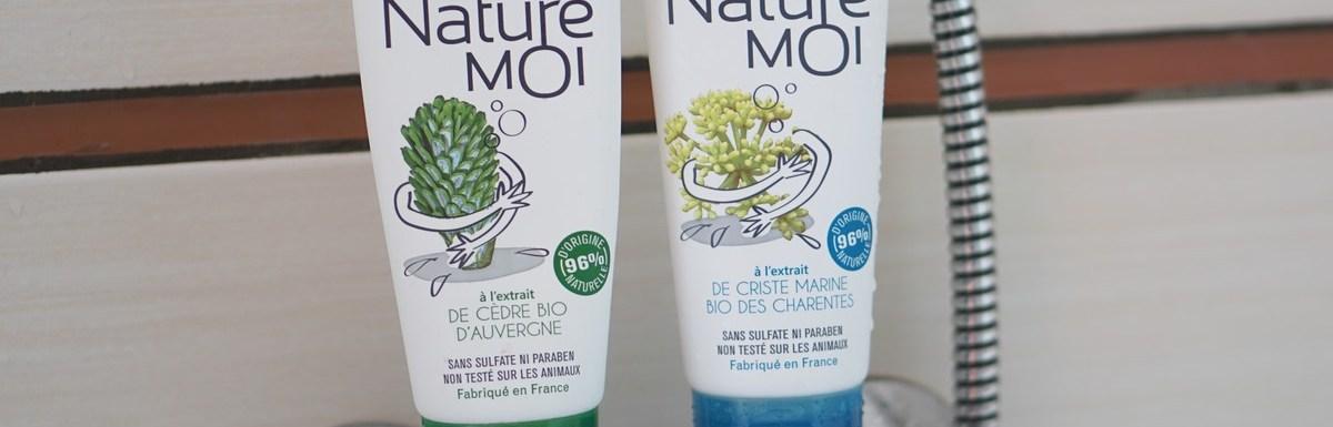 Gels douche Naturé Moi bio et Made in France