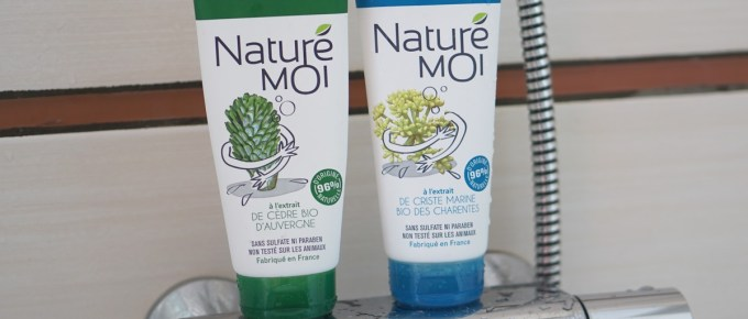Gels douche Naturé Moi bio et Made in France
