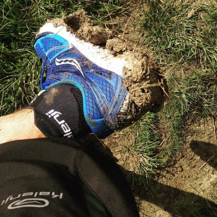 La boue n'est pas leur terrain préféré, mais ça passe