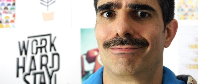 Je me laisse pousser la moustache !