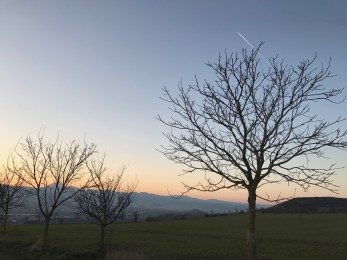 Balade au coucher du soleil