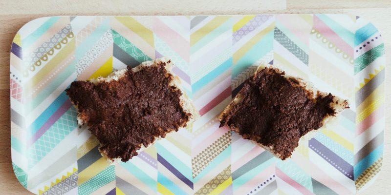 Pâte à tartiner chocolatée aux lentilles