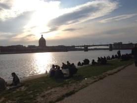 Vendredi 22 mars : sur les bords de la Garonne à Toulouse