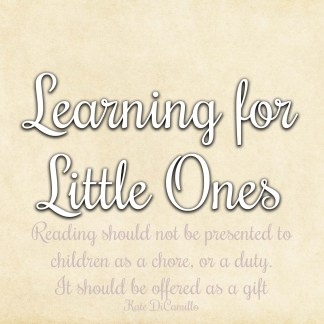 Learning for Little Ones