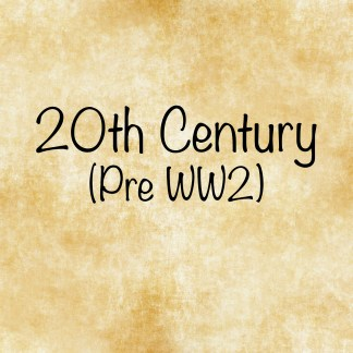 20th Century Fiction - 1900 - 1949