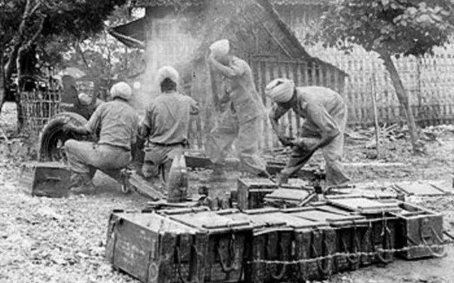 Pembelotan Tentara Muslim India untuk Indonesia