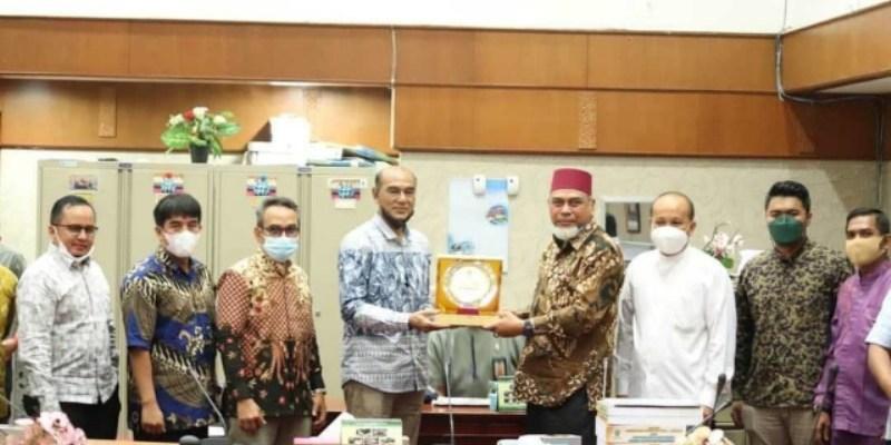 Komisi I DPRD Riau Terima Kunker dari Komisi I DPRD Bukittinggi
