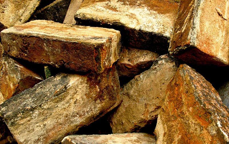 alte Ziegelsteine