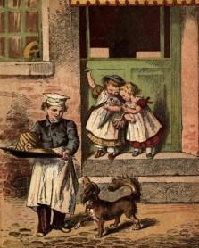 Bäckersjunge, Backwaren