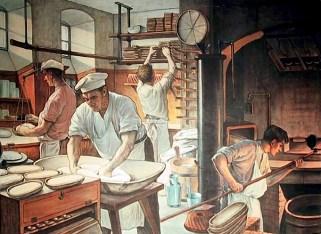 Bäckerei, backstube, Bäcker, backen