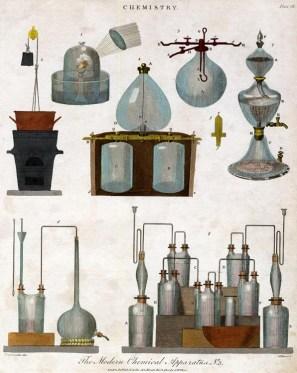 Glaskolben und andere Apparaturen