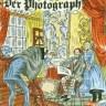 farbige Zeichnung: Fotograf fotografiert Paar