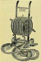 Zeichnung aus Katalog : aufgerollter Wasserschlauch