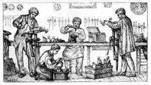 Drechsler, Holzarbeit, Handwerk