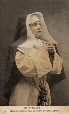 Nonne, Gebet, Ordenstracht