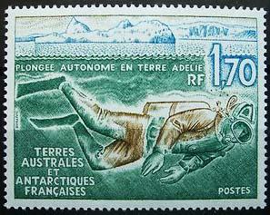 Briefmarke, Taucher
