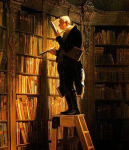 Bücherwurm, Bibliothek, Bibliothekar, Bücher, Bücherei