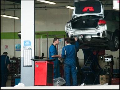 Autowerkstatt, Automechaniker, Autoreparatur