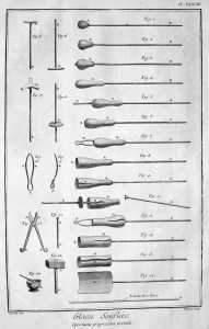 Werkzeuge, Glasbläser