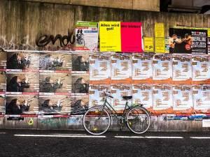 Plakatwand, Plakatierer, Plakate, Poster
